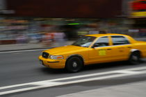 New York Taxi von Geoff White
