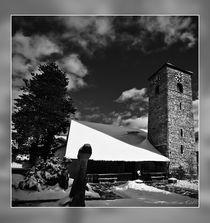 Verschneite Kirche von Chris Rüfli Photography