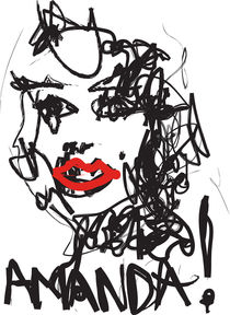 Amanda (Portrait) by Dan Cacioppo