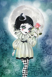 Pierrette Under the Icy Moon by Sandra Vargas