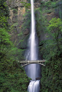 Multnomah Falls, Oregon by Wolfgang Kaehler