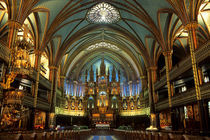 Notre-Dame Basilica, Montreal by Wolfgang Kaehler