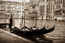 The Lonely Gondolier by Christopher Waddell