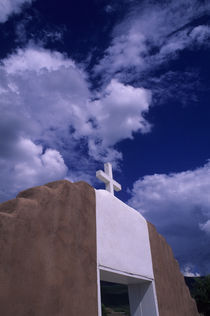 Taos Church by Wolfgang Kaehler