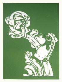 Fern Unfolding Kiokio Screen Print by Patricia Howitt