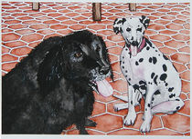 Patio Dogs von Laura Brightwood