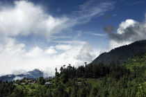 Himalayan village. by Anna Vesna