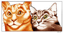 """Cats - """"The Two of Us"""" by Patricia Howitt"""