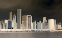 Chicago Panorama by Milena Ilieva