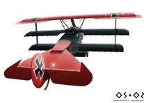 Fokker Dr.1 von Ennui Shao