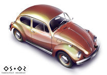 VW beetle by Ennui Shao
