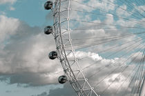 London, London Eye by Alan Copson