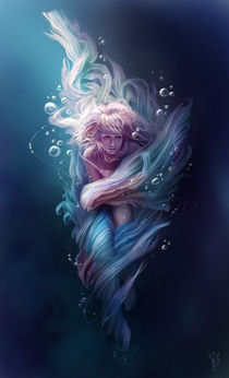 Underwater dance von Magdalena Saramak