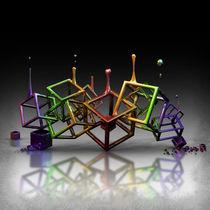 Colored Cubes von Rodrigo Arreche