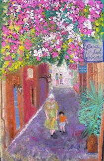street scene in Crete, Greece von Elena Malec