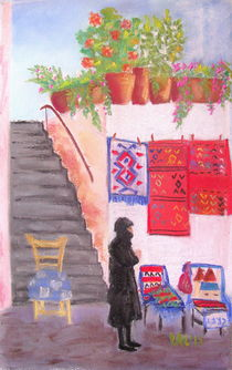 Anogia's rugs, Greece by Elena Malec