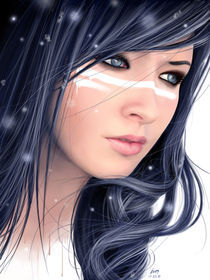 Frozen Beauty von Benjamin FRIESS