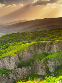 Cheddar Gorge Sunset von Craig Joiner