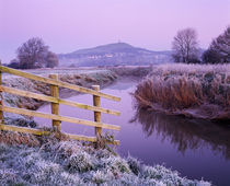 River Brue at Glastonbury, Somerset, England. von Craig Joiner
