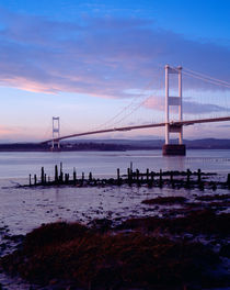 Severn Bridge, Gloucestershire, England. by Craig Joiner