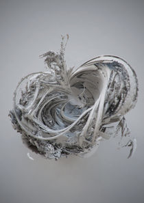 Abstract 3D cgi sculpture by Lee Griggs