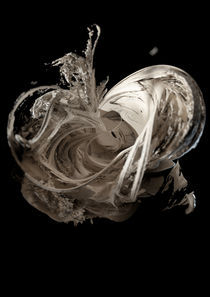 Abstract 3D cgi sculpture von Lee Griggs