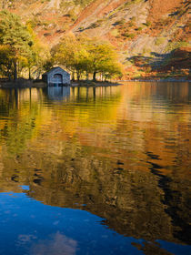 Boathouse on Wastwater in the Lake District by Craig Joiner