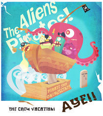 The Alien Pirates by Carlos Roberto Morales Umaña
