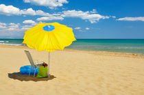 Beach Parasol by Craig Joiner