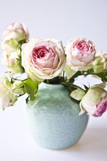 'Rosen in Japanischer Vase' by Oezen  Gider