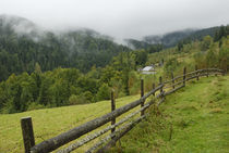 lonely house in wild Carpathians von pasha66