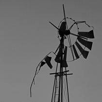 0ld wind-pump by james smit