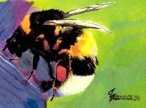 fleissige Biene by tinadefortunata