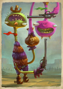 Monster Gun Point von Bo Mathorne