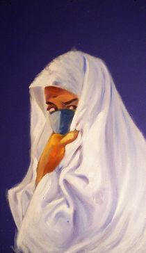 Femme voilée by NourYas Arts