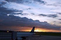 New Zealand Airlines flight from Fiji von Mike Rudzinski