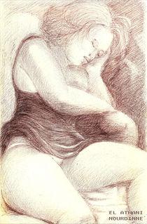 Femme endormie 2 by NourYas Arts