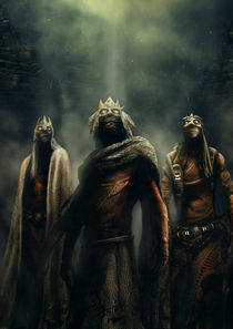 THE THREE WIZARDS by Patricio Clarey