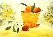 Orangensommer by Maria-Anna  Ziehr