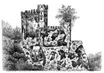 Schloss Rheinstein by Deborah Willard