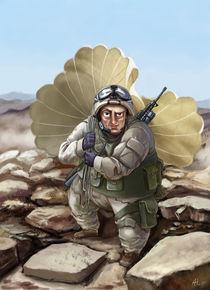 Soldier-landing