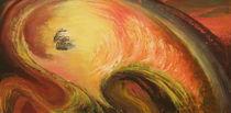 Abstraktes/ Schwung von Ute Hegel