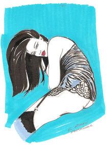 Femme sensuelle by NourYas Arts
