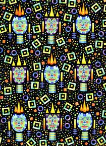 Flames by Lou Patrou