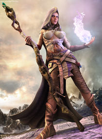 Sorceress by woody