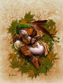 Sleepy Brownie by Alejandro Gutierrez Franco