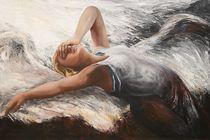 liegender Engel by Renate Berghaus