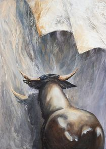 Stier by Renate Berghaus