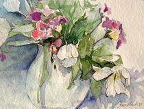 Tulpen und Fresien von Beate Steinebach