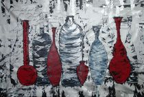 red bottles by ilonka Walter
